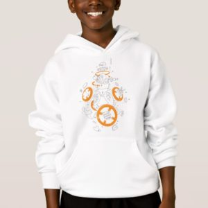 BB-8 Exploded View Drawing Hoodie