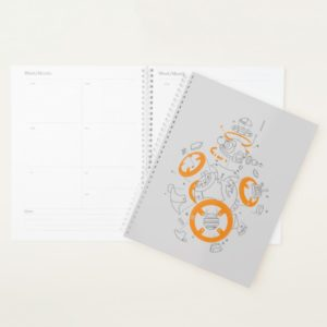 BB-8 Exploded View Drawing Planner