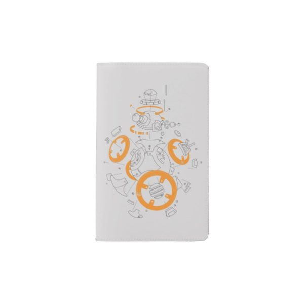 BB-8 Exploded View Drawing Pocket Moleskine Notebook
