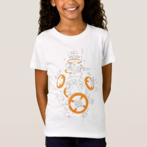 BB-8 Exploded View Drawing T-Shirt