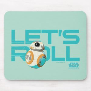 BB-8 | Let's Roll Mouse Pad