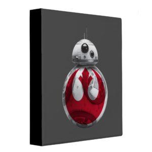 BB-8 | Rebel Alliance Symbol 3 Ring Binder