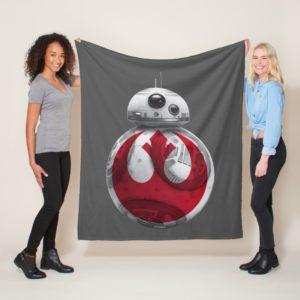 BB-8 | Rebel Alliance Symbol Fleece Blanket