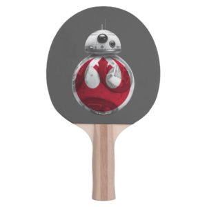 BB-8 | Rebel Alliance Symbol Ping Pong Paddle