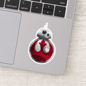 BB-8 | Rebel Alliance Symbol Sticker