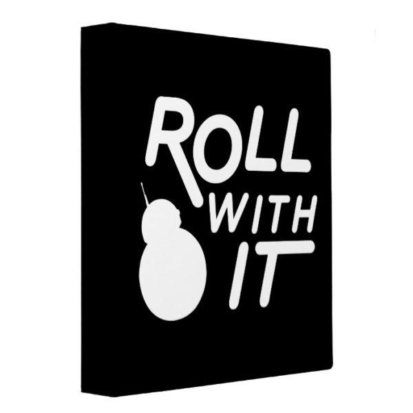 BB-8 | Roll With It 3 Ring Binder