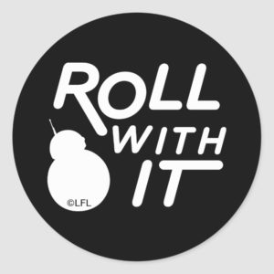 BB-8 | Roll With It Classic Round Sticker