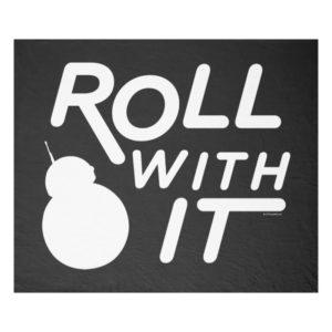 BB-8   Roll With It Fleece Blanket