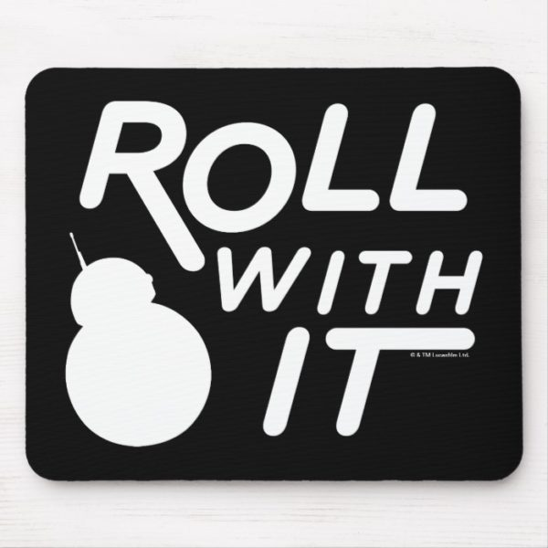 BB-8 | Roll With It Mouse Pad