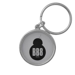 BB-8 Silhouette Keychain