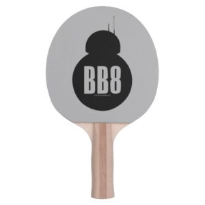 BB-8 Silhouette Ping Pong Paddle