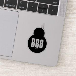 BB-8 Silhouette Sticker