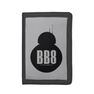 BB-8 Silhouette Trifold Wallet