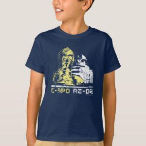 C-3PO & R2-D2 Vintage T-Shirt