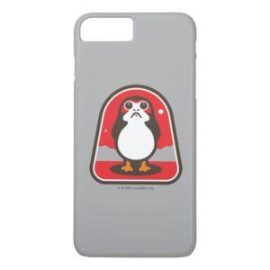 Cartoon Porg Badge Case-Mate iPhone Case