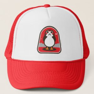 Cartoon Porg Badge Trucker Hat