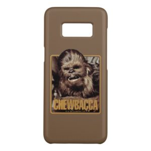 Chewbacca Badge Case-Mate Samsung Galaxy S8 Case