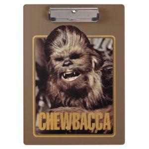 Chewbacca Badge Clipboard