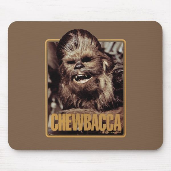 Chewbacca Badge Mouse Pad