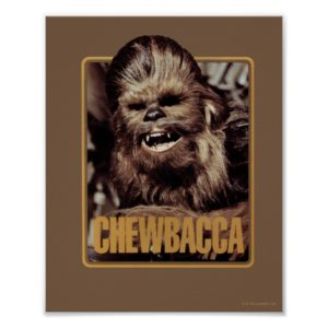 Chewbacca Badge Poster