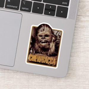 Chewbacca Badge Sticker