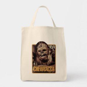 Chewbacca Badge Tote Bag