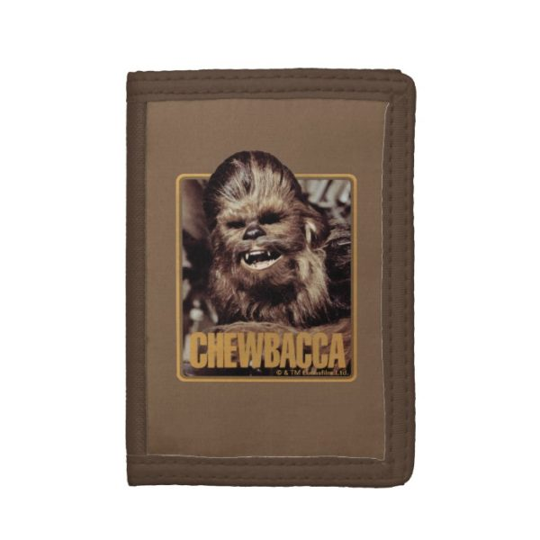 Chewbacca Badge Trifold Wallet
