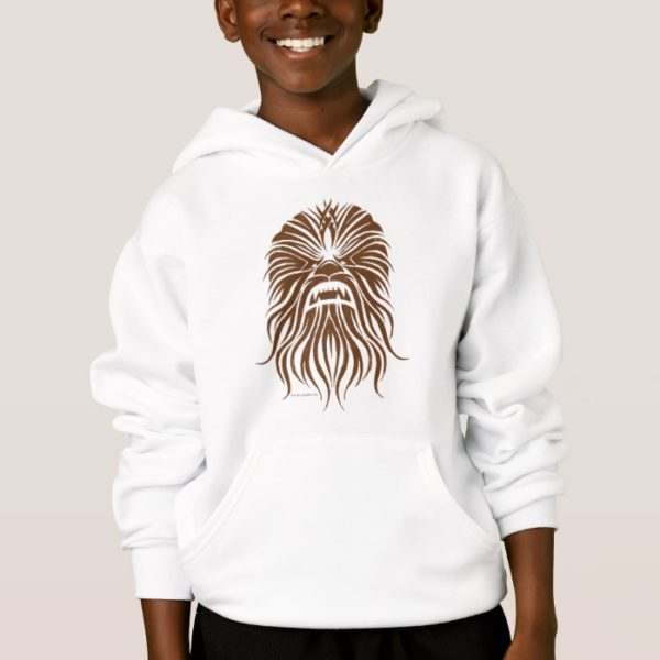 Chewbacca | Brown Tribal Hoodie