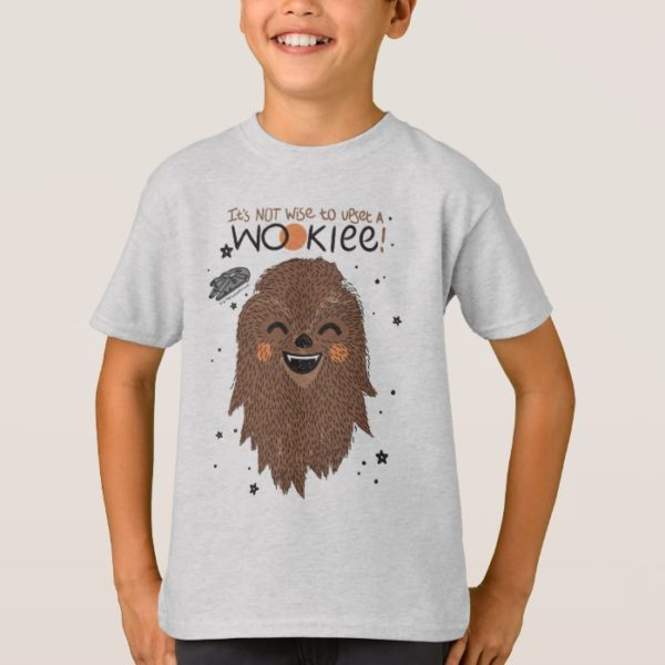 Chewbacca   It's Not Wise to Upset a Wookie T-Shirt