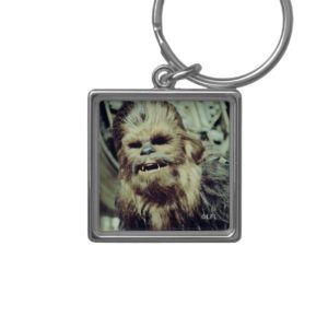 Chewbacca Photograph Keychain