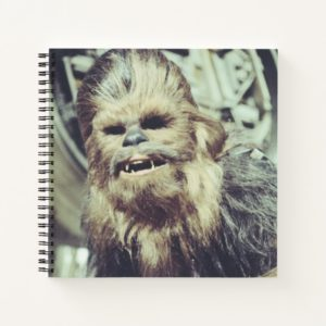 Chewbacca Photograph Notebook
