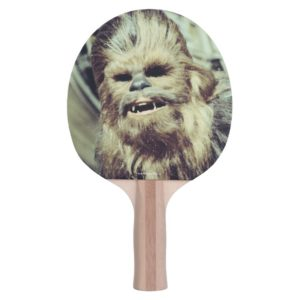 Chewbacca Photograph Ping Pong Paddle
