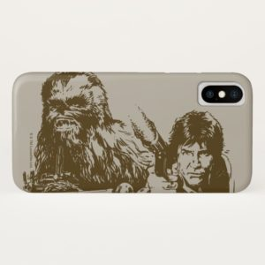 Chewie and Han Silhouette Case-Mate iPhone Case