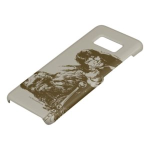 Chewie and Han Silhouette Case-Mate Samsung Galaxy S8 Case