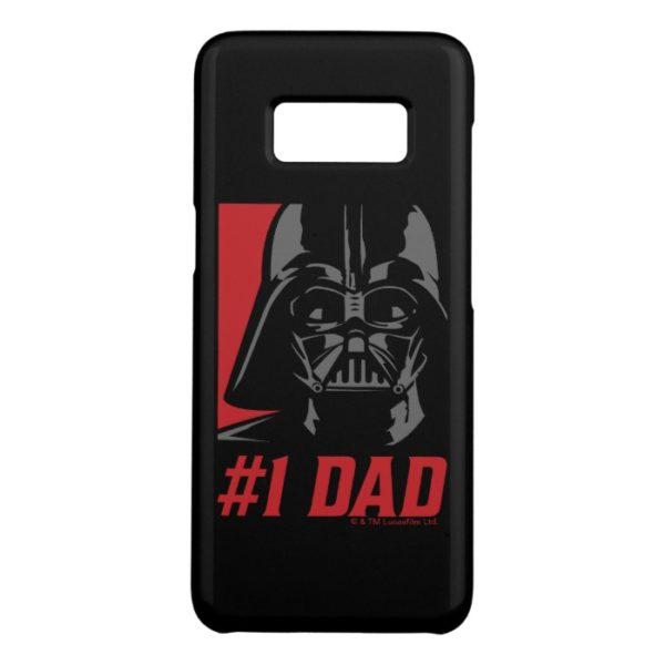 Darth Vader #1 Dad Stencil Portrait Case-Mate Samsung Galaxy S8 Case