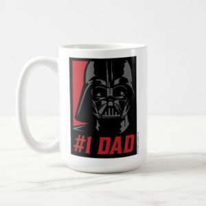 Darth Vader #1 Dad Stencil Portrait Coffee Mug