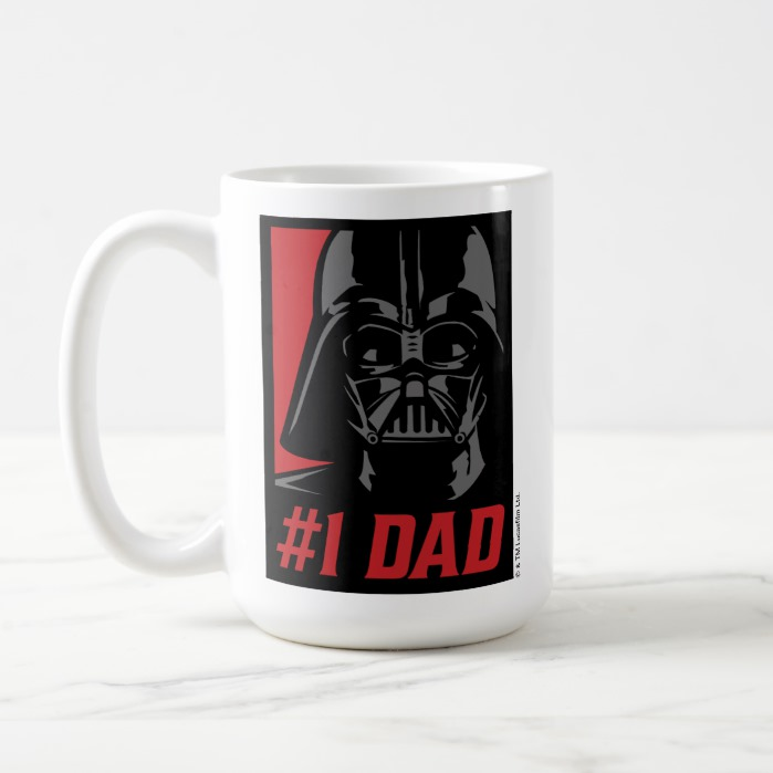 Vader1 Stencil Coffee Mug Portrait Dad Darth F3lK1cJT