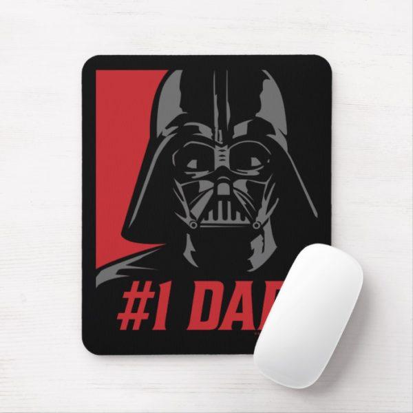 Darth Vader #1 Dad Stencil Portrait Mouse Pad