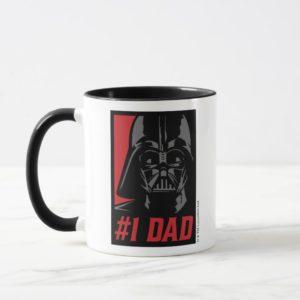 Darth Vader #1 Dad Stencil Portrait Mug