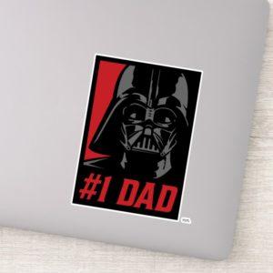 Darth Vader #1 Dad Stencil Portrait Sticker