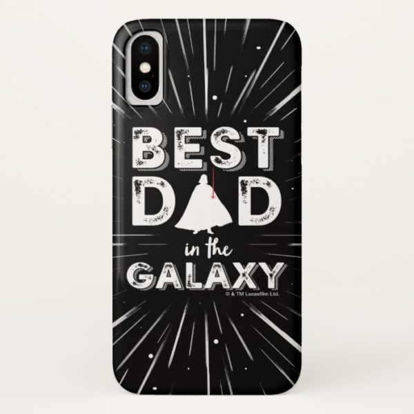 """Darth Vader """"Best Dad in the Galaxy"""" Case-Mate iPhone Case"""