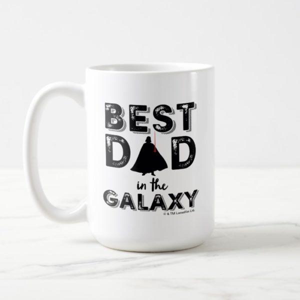 """Darth Vader """"Best Dad in the Galaxy"""" Coffee Mug"""