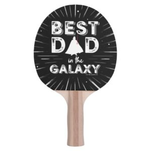 "Darth Vader ""Best Dad in the Galaxy"" Ping Pong Paddle"