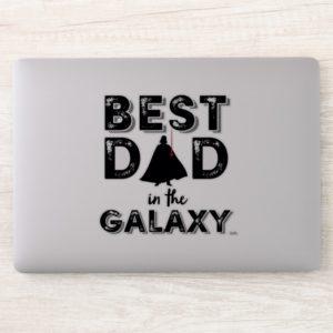 """Darth Vader """"Best Dad in the Galaxy"""" Sticker"""