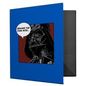 "Darth Vader Comic ""Beware The Dark Side"" 3 Ring Binder"