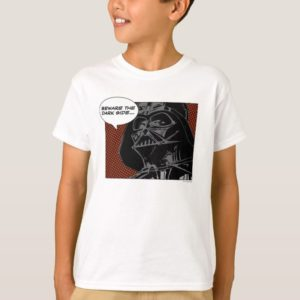 "Darth Vader Comic ""Beware The Dark Side"" T-Shirt"
