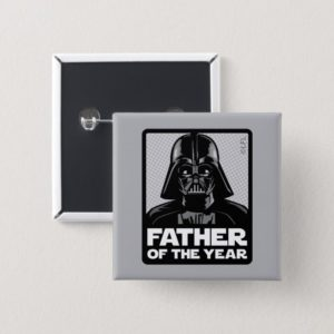 Darth Vader Comic | Father of the Year Button