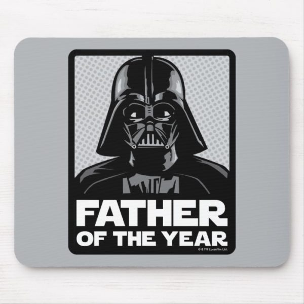Darth Vader Comic | Father of the Year Mouse Pad