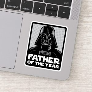 Darth Vader Comic | Father of the Year Sticker