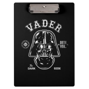 Darth Vader Dark Side Badge Clipboard